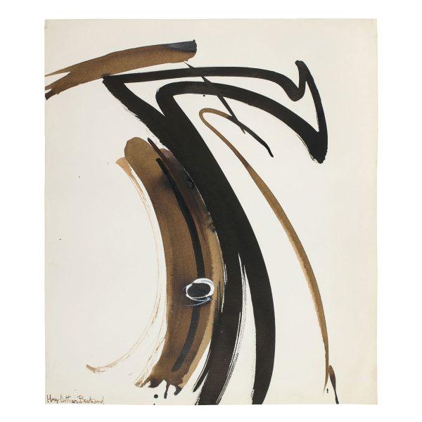 huguette arthur bertrand - oeil 1990 c gouache ink paper e shop