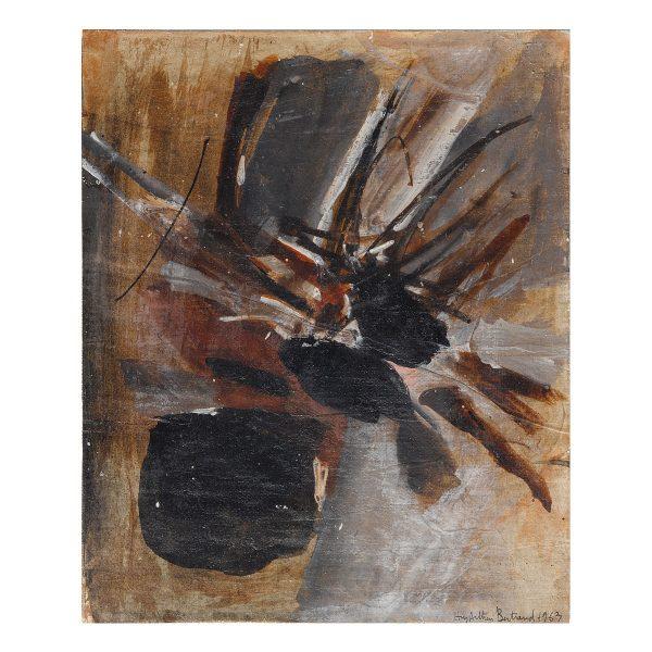 huguette arthur bertrand - untitled 1963 painting e shop