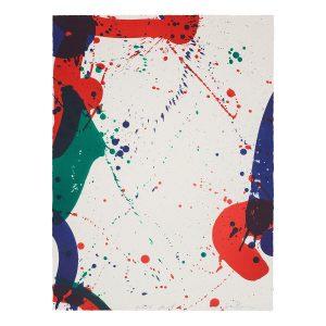 sam francis - lithograph sf 62 1967 e shop