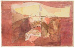 albert bitran - paper gouache untitled 1994