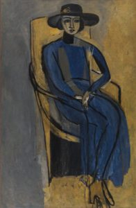 henri matisse - portrait de greta prozor 1916 newsletter art comes to you 21