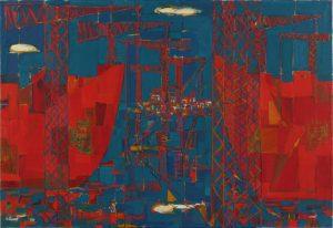 jean cortot - chantier naval a la ciotat 1949 newsletter art comes to you 20