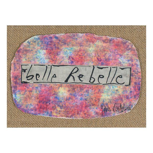jean cortot - collage belle rebelle 1994 e shop