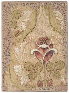 jean cortot - collage encre les fleurs du papier 1984