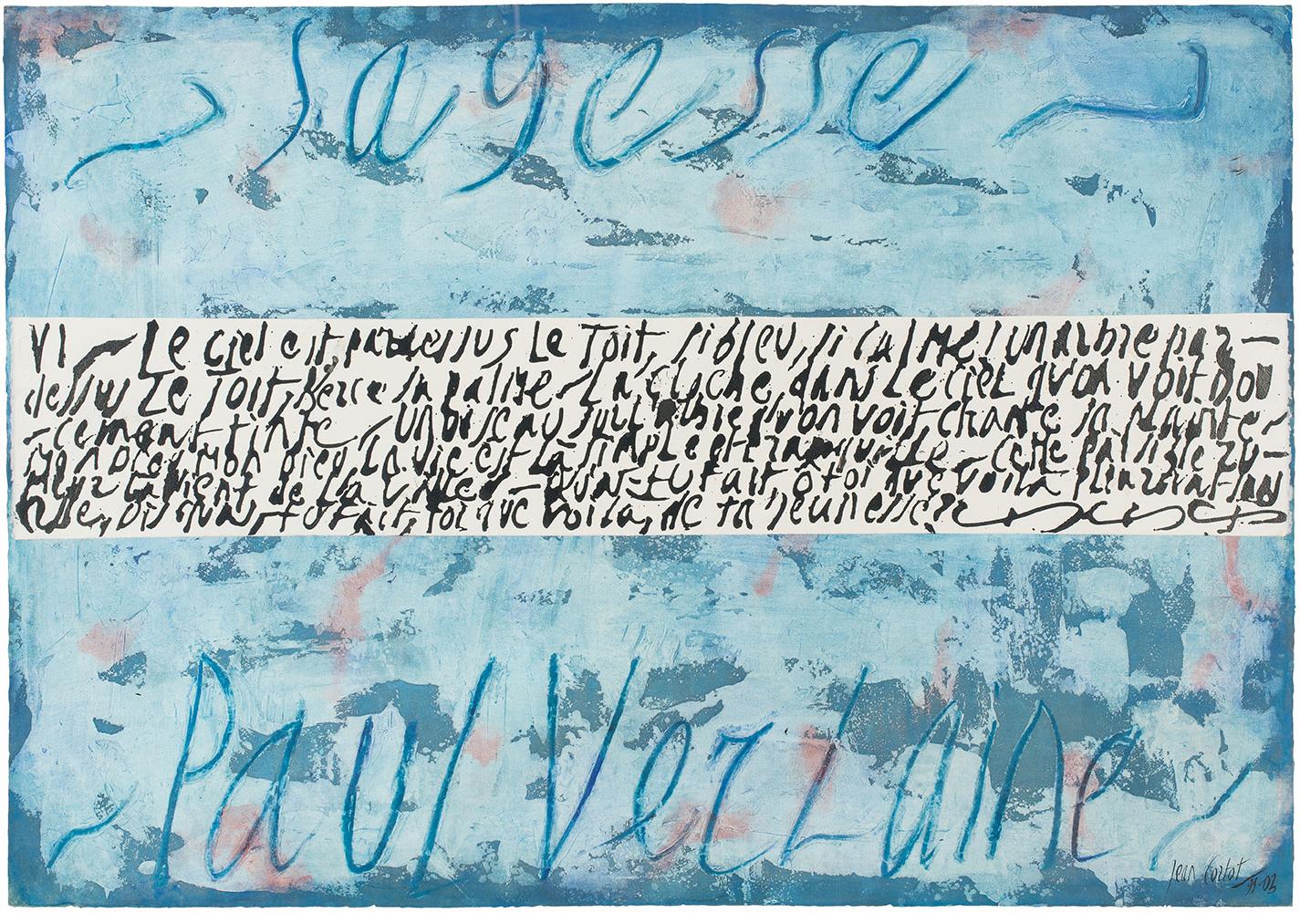 jean cortot - collage painting sagesse 1999 2003
