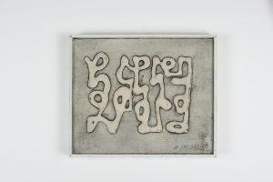 jean cortot - peinture ecriture 1969 simulation 1 e shop