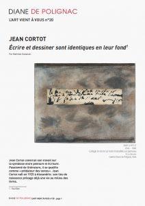 jean cortot - newsletter art vient a vous 20 couverture