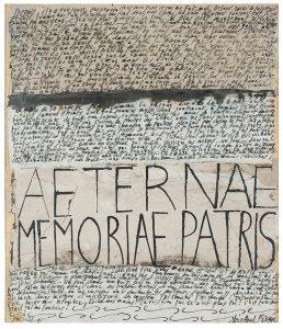 jean cortot - papier aeternae memoriabe patris 1985