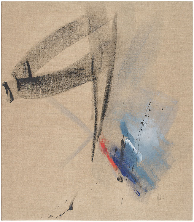 jean miotte - painting untitled 1976