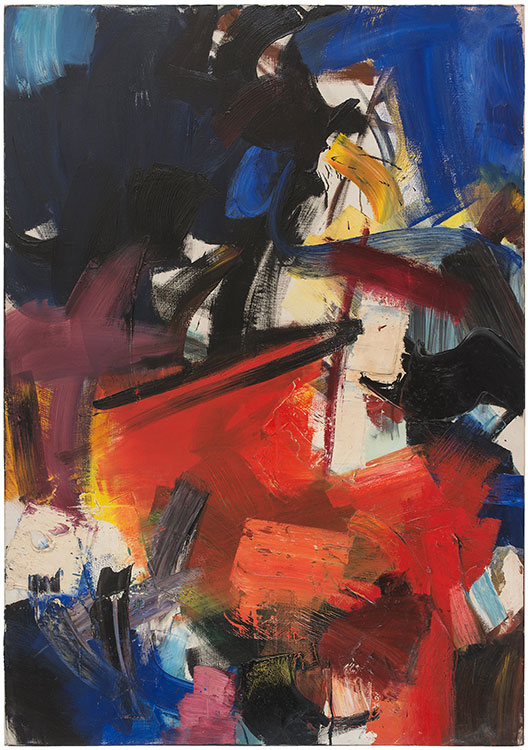 jean miotte - painting untitled c 1950