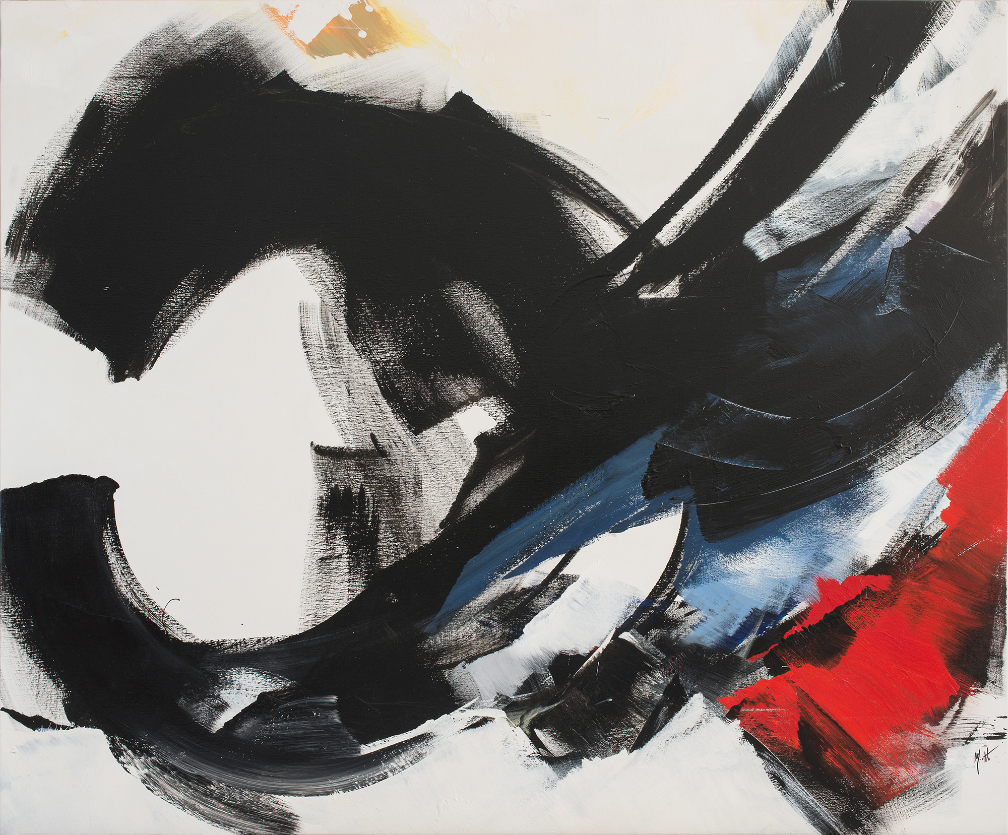 jean miotte - painting untitled c 2000