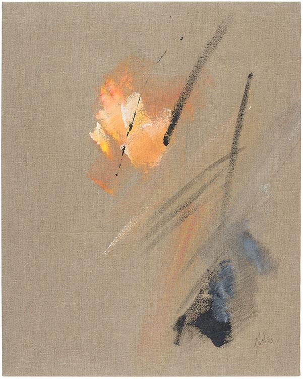 jean miotte - peinture sans titre 1975